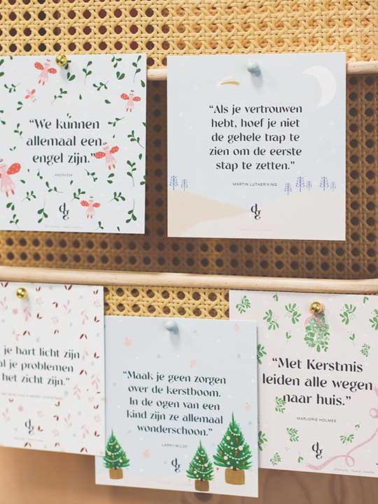 Dagelijkse Gedachte Kerstkaarten set